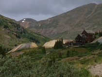 Abandoned mine near Silverton Colorado