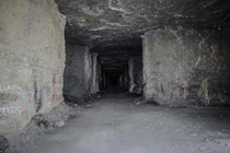 Abandoned mine where a murderer once hid dead bodies inside
