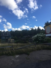 Abandoned mini golf course in lake placid New York