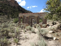 Abandoned Mining Office Carbon Canyon UT
