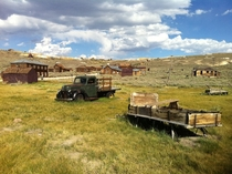 Abandoned Mining Town Bodie CA