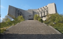 Abandoned monument to the Bulgarian-Soviet friendship in Varna Bulgaria