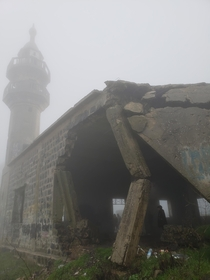 Abandoned mosque in the Golan Heights