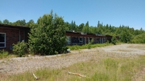 Abandoned motel Hwy  Ontario Canada
