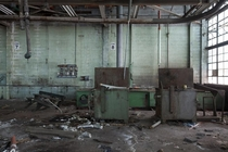 Abandoned Motor Transportation Garage in Detroit