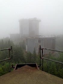 Abandoned mountain radar station