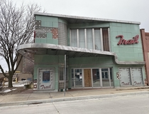 Abandoned movie theater in Saint Joseph Missouri Opened in  closed in
