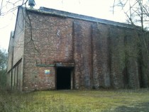 Abandoned munitions warehouse Plumley Cheshire