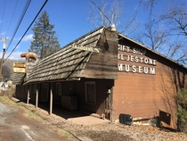 Abandoned museum and taxidermy in Hinton WV