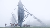 Abandoned NATO Military Base With Horses