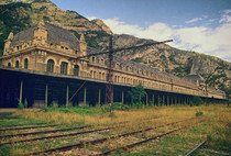 Abandoned Nazi Train Station Turned Underground Black Matter Research Laboratory Canfranc Spain