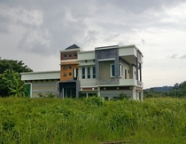 Abandoned never-used house in Brunei OC