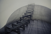 Abandoned Nuclear Cooling Tower near Elma Wa
