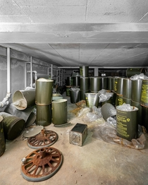 Abandoned Nuclear Fallout Shelter