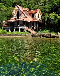 Abandoned nuns quarters at the abandoned leper colony on Chacachacare Island Trinidad and Tobago