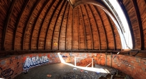 Abandoned observatory Bloomington IN