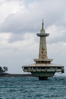 Abandoned Observatory in Nassau x-post rsubmechanophobia
