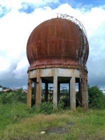 Abandoned oil silo Nrresundby Denmark  album in comments