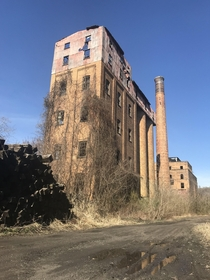 Abandoned Old Overholt distillery in Broadford PA Link to more pictures in comments section