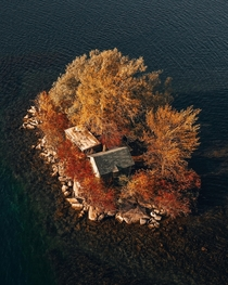 Abandoned on a Canadian island