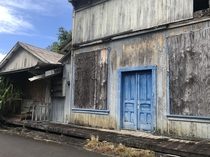 Abandoned once booming sugar plantation town in Hakalau HI Big Island