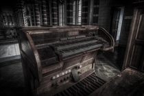 Abandoned Organ in a deserted monastery  Story in the description