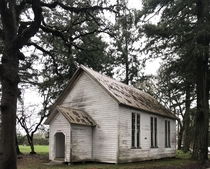 Abandoned  Orleans Chapel in Albany Oregon
