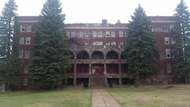 Abandoned orphanage in Marquette Michigan