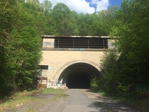 Abandoned PA Turnpike Tunnel near Harrisonville PA