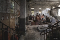 Abandoned Paper Factory unknown location  by Frans Nijland