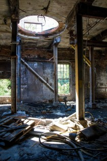 Abandoned Paper Mill In Michigan