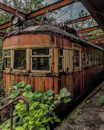 Abandoned Passenger Car -- Location Unknown