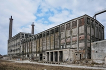 Abandoned Phosphate Factory outside of Berlin Germany