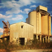 Abandoned Phosphate Plant Bone Valley Florida OC MIC