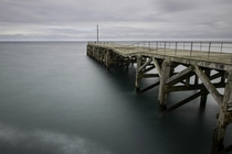 Abandoned pier Trefor North Wales   x   by Ste Clayton