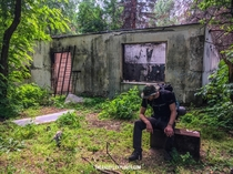 Abandoned pig farm near Duga Radar in the Chernobyl zone was a favorite stopover for stalkers Chernobyl explorers To our great regret the building burned down in the Chernobyl wildfires in April