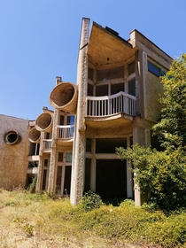 Abandoned pioneer youth camp in Macedonia