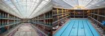 Abandoned Piscine Molitor in Paris and what it looks like after renovation