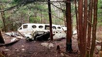 Abandoned plane wreckage in the Smokey Mountains