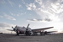 Abandoned Planes in the Desert