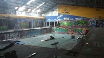 Abandoned Pool Hall in Cranbourne Australia