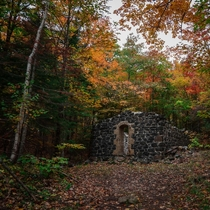 Abandoned Powder House in an Upper Peninsula Ghost Town