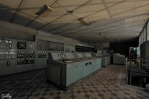 Abandoned Power Plant Control Room Somewhere in Benelux Belgium Netherlands and Luxembourg  by Stef Guilty