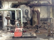 Abandoned power plant Hungary Aesthetically I love old pipes and mechanisms