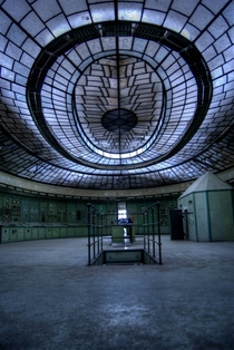 Abandoned power plant in Budapest