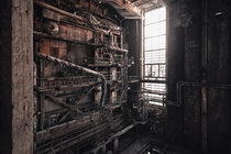 Abandoned power plant in Inota Hungary one of the filming locations for Blade Runner  photo  Tams Pataki
