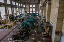 Abandoned power plant in NY undergoing demolition