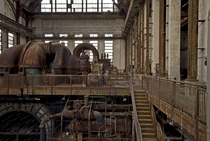 Abandoned Power Plant in Philadelphia
