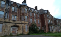 Abandoned psychiatric hospital in central Scotland