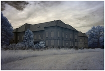 Abandoned Psychiatric Hospital In InfraRed